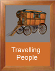 Travelling people trailer